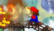 Mario usando una flor de fuego SSB.png