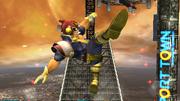 Ataque Smash hacia arriba Captain Falcon SSBB (1).png