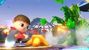 Aldeano atacando (4) SSB4 (Wii U).jpg