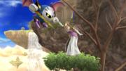 Meta Knight y Zelda en Altarea SSB4 (Wii U).png