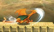 Ataque smash lateral de Charizard (2) SSB4 (3DS).jpg