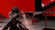 Detalle de Joker usando su pistola Super Smash Bros. Ultimate.jpg
