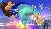 Estela haciendo un ataque aéreo SSB4 (Wii U).jpg