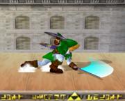 Ataque Smash hacia abajo de Link (1) SSBM.png