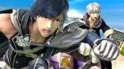 Chrom de cerca en el Reino del Cielo SSB4 (Wii U).png