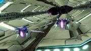 Fox y Samus Zero en la Estacion Espacial SSB4 (Wii U) (3).jpg