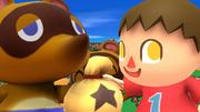 Créditos Modo Leyendas de la lucha Aldeano SSB4 (Wii U).png