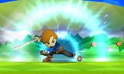 Espadachín Mii Asalto aéreo SSB4 (3DS) (1).JPG