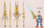 Arte conceptual Espada de la Égida (Mythra) XC2.png