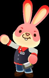 Art oficial de Arcadio en Nintendo Badge Arcade
