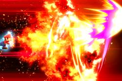 Vista previa de Mario Final en la sección de Técnicas de Super Smash Bros. Ultimate