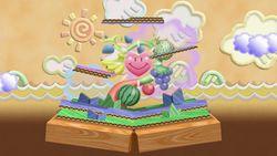 Vista del escenario en Super Smash Bros. Ultimate