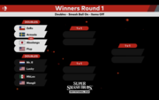 Brakets Winners Round 1 en el Super Smash Bros. Invitational 2018.png
