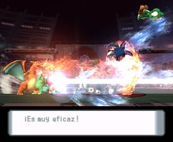 Remate triple en Super Smash Bros. Brawl