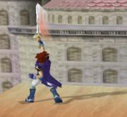 Ataque Smash hacia arriba de Roy SSBM.png