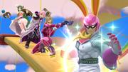 Créditos Modo Leyendas de la lucha Captain Falcon SSB4 (Wii U).png