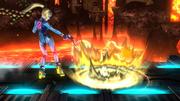 Ataque Smash inferior de Samus Zero SSB4 (Wii U).png