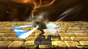 Ataque Smash inferior de Link (2) SSB4 (Wii U).png