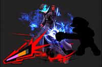 Vista previa de Guardia rebelde en la sección de Técnicas de Super Smash Bros. Ultimate.