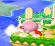 Ataque de recuperación desde el borde 100% de Kirby SSBM.png