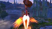 Ataque aéreo hacia abajo Tirador Mii SSB4 Wii U.jpg