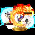 Trofeo de Golpe critico (Roy) SSB4 (Wii U).png