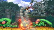 Barriles incendiarios (2) SSB4 (Wii U).png