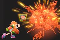 Vista previa de Plasbomba/Bomba básica en la sección de Técnicas de Super Smash Bros. Ultimate