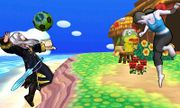 Entrenadora de Wii Fit y Daraen mujer en Isla Tórtimer SSB4 (3DS).jpg
