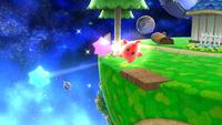 Destello atacando con Trozos de estrella en Super Smash Bros. para Wii U
