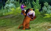 Burla hacia abajo de Dúo Duck Hunt SSB4 (3DS).jpg