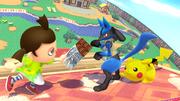 Créditos Modo Leyendas de la lucha Lucario SSB4 (Wii U).png