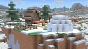 Mundo de Minecraft (Tundra nevada) SSBU.jpg