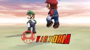 Pose de victoria hacia abajo (2) Mario SSBB.png