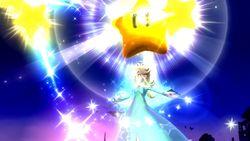 Estela y Destello usando su Smash Final en Super Smash Bros. para Wii U.