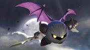 Meta Knight en la Torre del reloj de Umbra SSBU.jpg