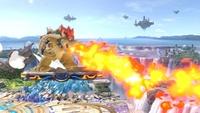 Aliento de fuego en Super Smash Bros. Ultimate