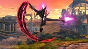 Ataque Aéreo Hacia Arriba Bayonetta SSB Wii U.jpg