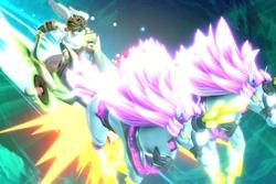 Vista previa de Carro de luz en la sección de Técnicas de Super Smash Bros. Ultimate