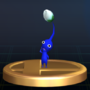 Trofeo de Pikmin azul SSBB.png