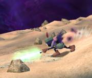 Prímido espadachín atacando (2) ESE SSBB.png