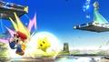 Estela atacando a Mario con Destello SSB4 (Wii U).jpg