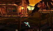 Diddy Kong, Donkey Kong y Pikachu en la Jungla Jocosa SSB4 (3DS).jpg