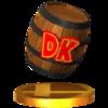 Trofeo de Barril DK SSB4 (3DS).png