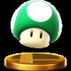 Trofeo de Champiñón vida extra SSB4 (Wii U).png