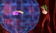 Palutena junto a un Maiva en el modo Smashventura SSB4 (3DS).jpg