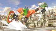 Min Min y el Entrenador de Wii Fit en Coliseo SSBU.jpg