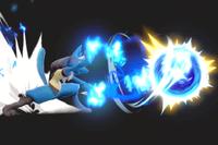 Vista previa de Esfera aural en la sección de Técnicas de Super Smash Bros. Ultimate