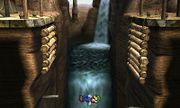 Luigi cayendo al vacío en el Valle Gerudo SSB4 (3DS).jpg