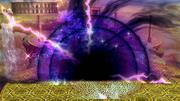 Agujero negro y rayo concentrado (2) SSB4 (Wii U).png